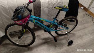 bicicleta de niño 20 pulgadas