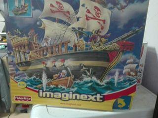 Barco pirata imaginext de fisher price