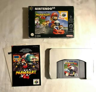 Mario kart nintendo 64 Completo