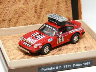 Porsche 911 Dakar 1981 (MasSlot) Sólo 30 unidades