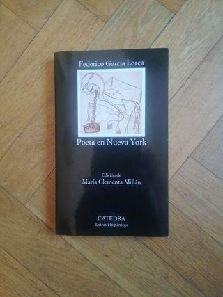 """Libro Federico García Lorca """"Poeta en Nueva York"""""""