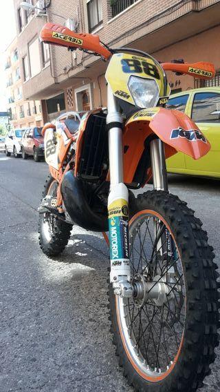 KTM exc 250 año 2013
