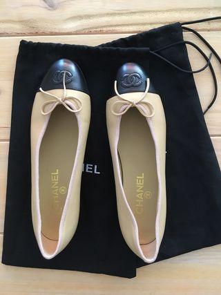 1de981426 Bailarinas Chanel de segunda mano en WALLAPOP