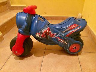 Moto juguete niño Spiderman