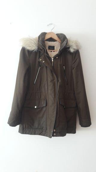 Abrigo coreana mujer Zara talla M de segunda mano por 20