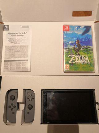 Nintendo SWITCH + Zelda