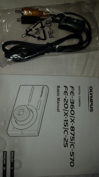 original cable de cámara Olympus salida Tv Cb-avc5