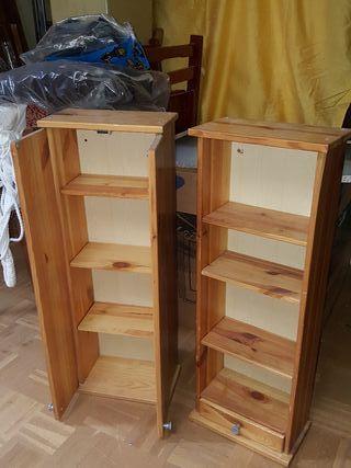 2 armarios de baño