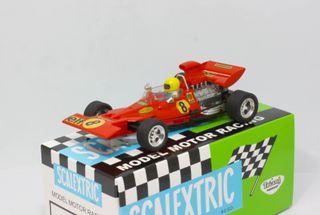 Tyrrell-Ford F1 Scalextric Exin con caja repro