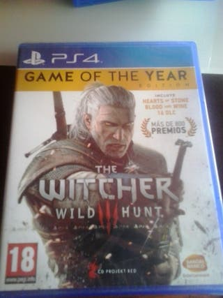 The Witcher III para la consola ps4