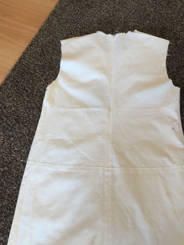 Vestido blanco roto de bimba y lola
