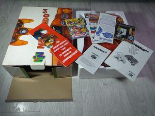 Nintendo 64 Clear Orange Fire