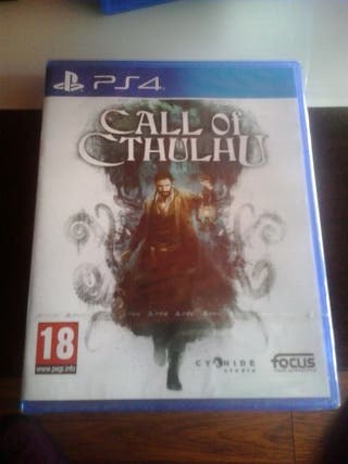 Call of Cthulhu para la consola ps4