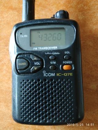 walkie scanner ICOM IC-Q7E