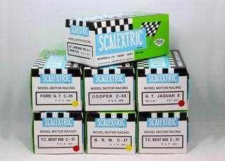 Caja repro Scalextric Exin Triang e instrucciones