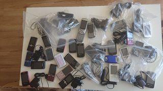 lote de teléfonos Sony Ericsson