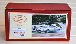 Jaguar E 2A Le Mans 1960 (Slot Classic CJ-46 RTR)