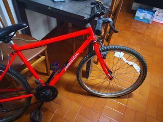 bicicleta semi montaña