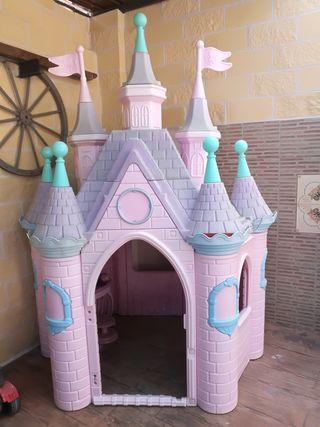 Palacio princesas jardin niños