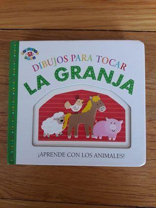 Libro cuento bebé La Granja con relieves