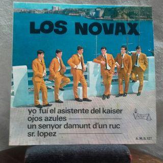 los Novax -EP vinilo (autografiado) 1967