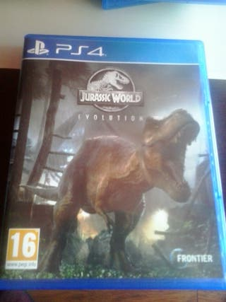Jurassic World Evolution para la consola ps4