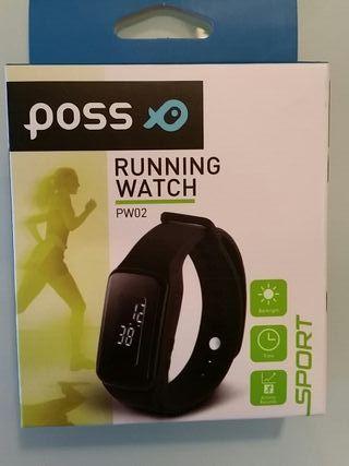 Running watch POSS PW02 nuevo a estrenar
