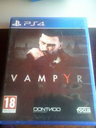 Vampyr para la consola ps4