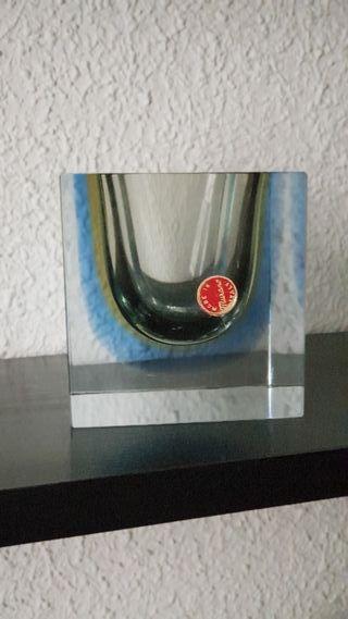 Cenicero cristal de Murano