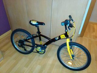 Bicicleta niño 20 pulgadas Decathlon