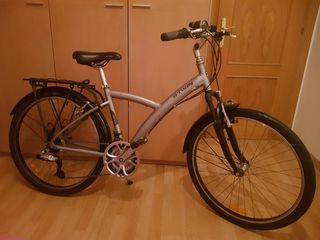 Bicicleta polivalente paseo btwin 500