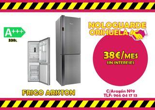 FRIGORIFICO A+++ INOX -- 38€/MES