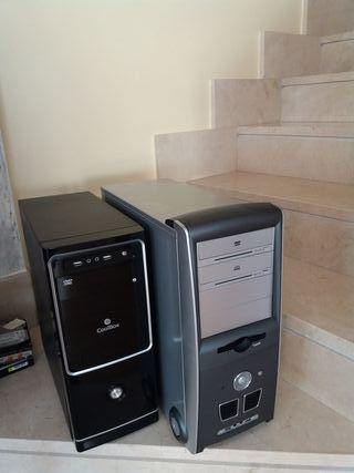 cajas semitorre ATX con y sin fuente