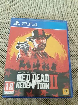 Vendo red dead redeption 2