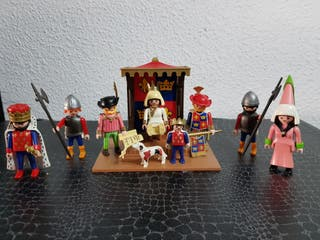 Playmobil 3659 Corte del reino medieval completa