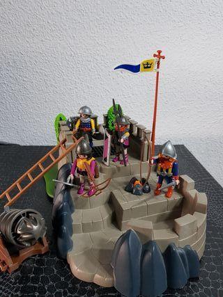 Playmobil 4133 bastión medieval completo