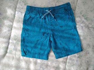 Pantalón corto niño, 5-6 años, 116 cm