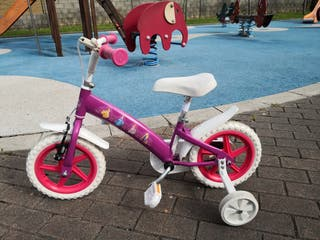 bicicleta 12' para niña de 2a4 años.