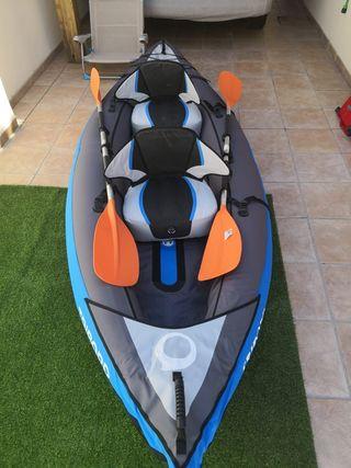 kayak hinchable 1 o 2 plazas