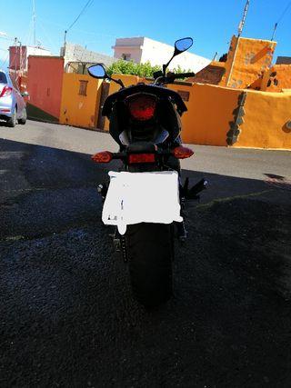 Yamaha xj6 año 2012