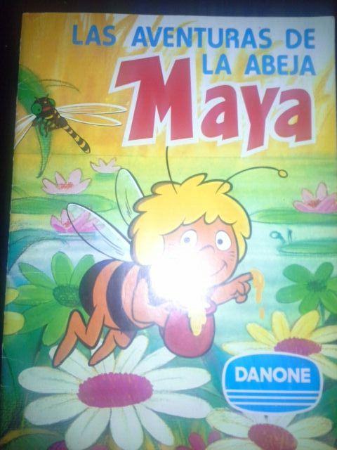 Album Las aventuras de la abeja Maya