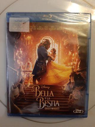 Película Blue Ray La Bella y la Bestia