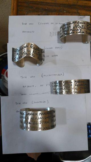 28bf0fd3cb18 Pulsera de plata con nombre de segunda mano en WALLAPOP