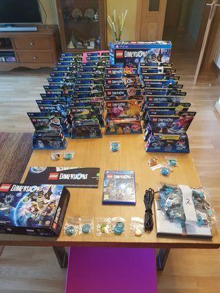 Lote Lego Dimensions Ps4 (Juego y Discos)