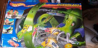 pista de coches de hotwheels