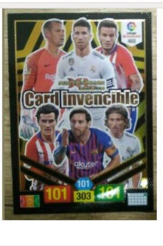 Card Invencible 18-19