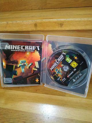 Juego Minecraft ps3