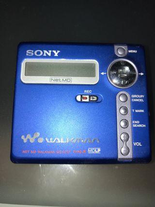 Sony MiniDisc MZ-N707 (Reproductor-Grabador)