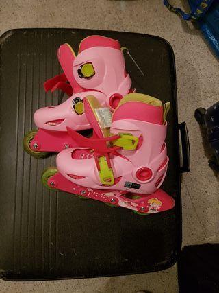 patines nuevos rosa de oxelo