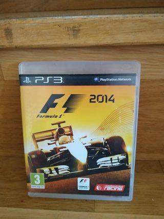 Fórmula 1 2014 ps3